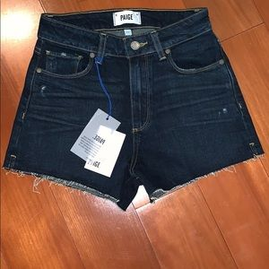 Paige high waisted size 25 shorts